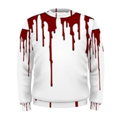 Blood Splatter 5 Men s Sweatshirts