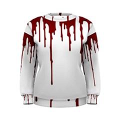 Blood Splatter 5 Women s Sweatshirts