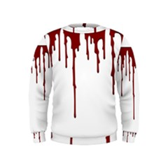 Blood Splatter 5 Boys  Sweatshirts