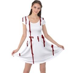 Blood Splatter 5 Cap Sleeve Dresses