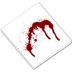 Blood Splatter 6 Small Memo Pads