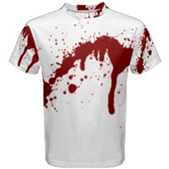 Blood Splatter 6 Men s Cotton Tees