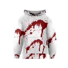 Blood Splatter 6 Kid s Pullover Hoodies
