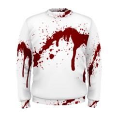 Blood Splatter 6 Men s Sweatshirts