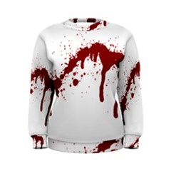 Blood Splatter 6 Women s Sweatshirts