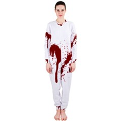 Blood Splatter 6 OnePiece Jumpsuit (Ladies)
