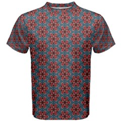 Cute Seamless Tile Pattern Gifts Men s Cotton Tees