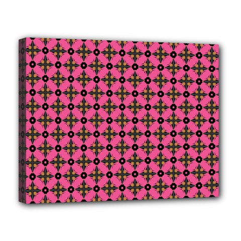 Cute Seamless Tile Pattern Gifts Canvas 14  X 11