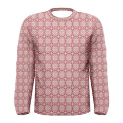 Cute Seamless Tile Pattern Gifts Men s Long Sleeve T-shirts