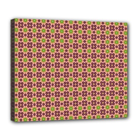 Cute Seamless Tile Pattern Gifts Deluxe Canvas 24  X 20