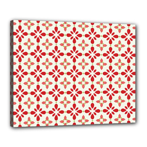 Cute Seamless Tile Pattern Gifts Canvas 20  X 16
