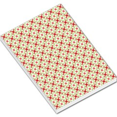 Cute Seamless Tile Pattern Gifts Large Memo Pads