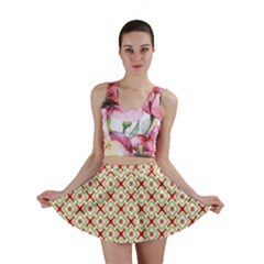 Cute Seamless Tile Pattern Gifts Mini Skirts