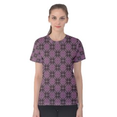 Cute Seamless Tile Pattern Gifts Women s Cotton Tees
