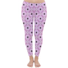 Cute Seamless Tile Pattern Gifts Winter Leggings
