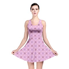 Cute Seamless Tile Pattern Gifts Reversible Skater Dresses