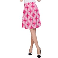 Cute Seamless Tile Pattern Gifts A Line Skirts