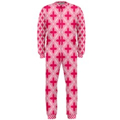 Cute Seamless Tile Pattern Gifts OnePiece Jumpsuit (Men)