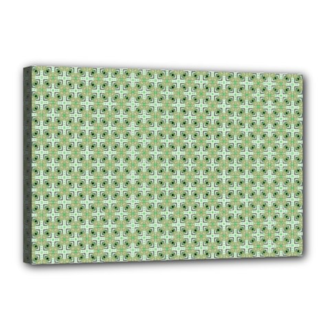 Cute Seamless Tile Pattern Gifts Canvas 18  X 12
