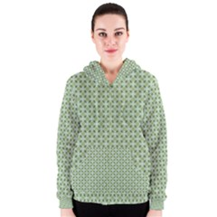 Cute Seamless Tile Pattern Gifts Women s Zipper Hoodies