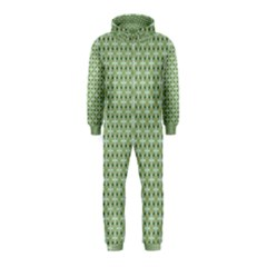 Cute Seamless Tile Pattern Gifts Hooded Jumpsuit (Kids)