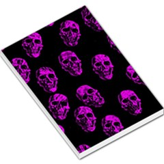 Purple Skulls  Large Memo Pads
