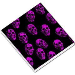 Purple Skulls  Small Memo Pads