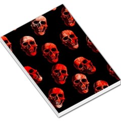 Skulls Red Large Memo Pads