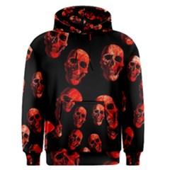 Skulls Red Men s Pullover Hoodies