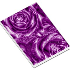 Gorgeous Roses,purple  Large Memo Pads