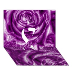 Gorgeous Roses,purple  Ribbon 3d Greeting Card (7x5)