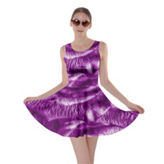 Gorgeous Roses,purple  Skater Dresses