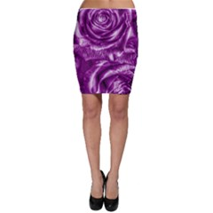 Gorgeous Roses,purple  Bodycon Skirts