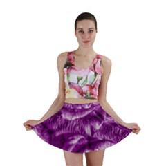 Gorgeous Roses,purple  Mini Skirts