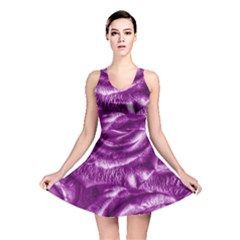 Gorgeous Roses,purple  Reversible Skater Dresses