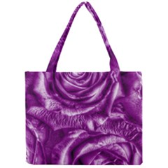 Gorgeous Roses,purple  Tiny Tote Bags