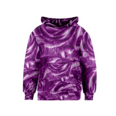 Gorgeous Roses,purple  Kid s Pullover Hoodies