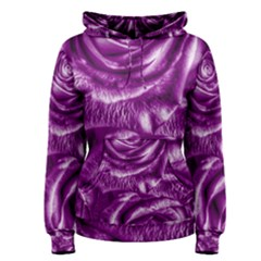 Gorgeous Roses,purple  Women s Pullover Hoodies