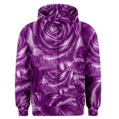 Gorgeous Roses,purple  Men s Zipper Hoodies