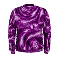 Gorgeous Roses,purple  Men s Sweatshirts