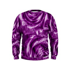 Gorgeous Roses,purple  Boys  Sweatshirts
