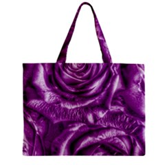 Gorgeous Roses,purple  Zipper Tiny Tote Bags