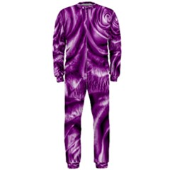 Gorgeous Roses,purple  OnePiece Jumpsuit (Men)