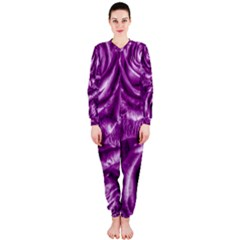 Gorgeous Roses,purple  OnePiece Jumpsuit (Ladies)