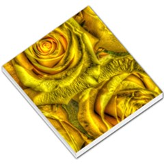 Gorgeous Roses, Yellow  Small Memo Pads