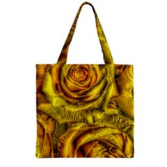 Gorgeous Roses, Yellow  Grocery Tote Bags