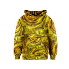 Gorgeous Roses, Yellow  Kid s Pullover Hoodies