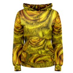 Gorgeous Roses, Yellow  Women s Pullover Hoodies