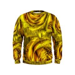 Gorgeous Roses, Yellow  Boys  Sweatshirts