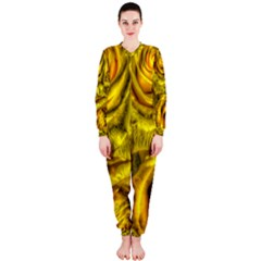 Gorgeous Roses, Yellow  OnePiece Jumpsuit (Ladies)